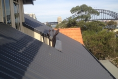 Colorbond roof replacement